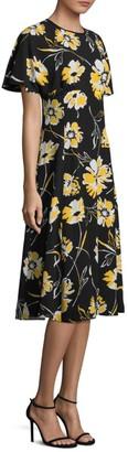 Michael Kors Silk Floral Dress
