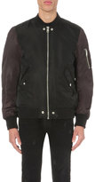 Diesel W-to Shell Bomber Jacket