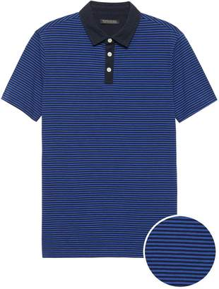 Banana Republic Luxury-Touch Performance Golf Polo Shirt