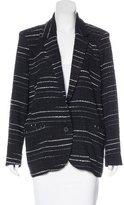Etoile Isabel Marant Tweed Notch-Lapel Blazer