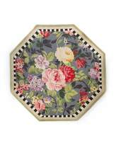 Mackenzie Childs MacKenzie-Childs Tudor Rose Rug, 6' Octagon