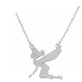 Disney Tinkerbell Silhouette Necklace