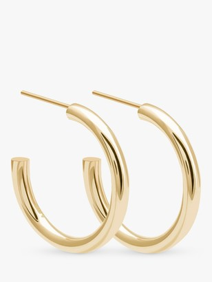 Astrid & Miyu Basic Large Hoop Earrings, Gold