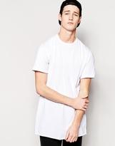 Maharishi Long Asymetric T Shirt - White