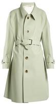 Maison Margiela Oversized waist-tie trench coat