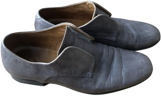 Jil Sander Grey Leather Lace ups
