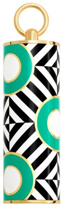 Carolina Herrera Herrera Geometric Print Lipstick Cap