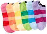 Hue Liner Socks - Pack of 6