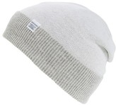 Norse Projects Men's Double Faced Merino Wool Beanie - White