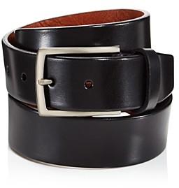 Trafalgar Men's Enrico Leather Belt