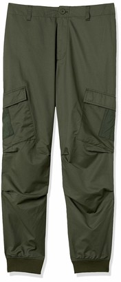 Armani Exchange A|X Men's Recycled Polyester Jogger with Cargo Pockets