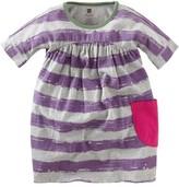 Tea Collection 'Brushstroke' Stripe Dress (Little Girls & Big Girls)