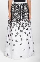 Parker Women's 'Lenore' Floral Applique Ball Skirt
