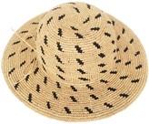 Justine Hats Textured Raffia Sun Hat