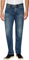 Jean Shop Men's Faded Rocker Straight Jeans