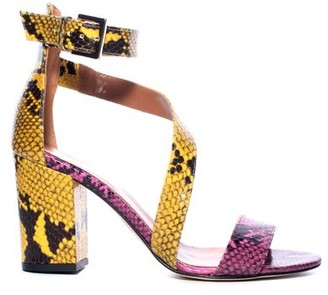 Paris Texas Snake Sandal