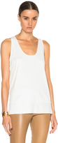 By Malene Birger Partias Tank Top in White.