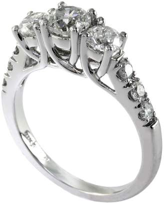 Effy 14K White Gold 1.50 Total Carat Weight Diamond NRing