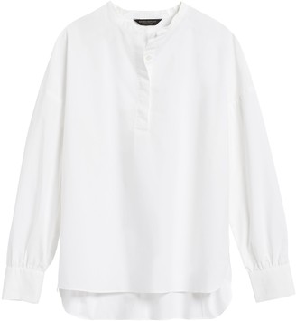 Banana Republic JAPAN EXCLUSIVE Oversized Banded-Collar Shirt