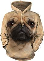 The Mountain Pug Face Hoodie