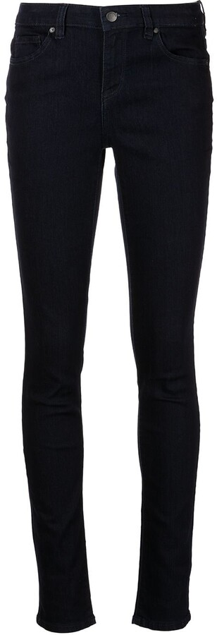 Calvin Klein Jeans Low-Rise Skinny Jeans