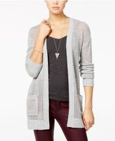 OhMG! Juniors' Open-Knit Cardigan