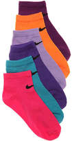 Nike Girls Pastel Performance Youth No Show Socks
