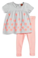 Tea Collection Infant Girl's Queenscliff Tee & Leggings Set