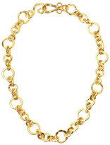 "Stephanie Kantis Coronation 24k Gold Plate Small Necklace, 18""L"