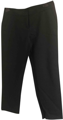 Max & Co. Black Cotton Trousers for Women