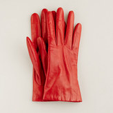 J.Crew Cashmere-lined leather gloves