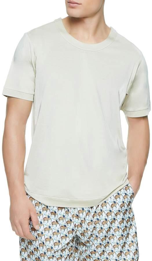 La Perla Men's Solid Knit T-Shirt