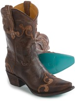 Dakota Lane Boots Cowboy Boots - Leather, Snip-Toe (For Women)