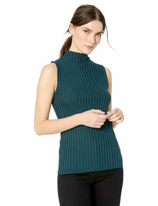 Kenneth Cole New York Kenneth Cole Women's Solid Mock Sweater