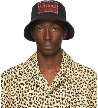 Gucci Black Whatever The Season Bucket Hat