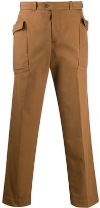 Pt01 Straight-Leg Cargo Trousers