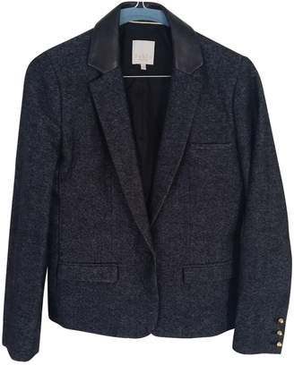 Gerard Darel Blue Wool Jacket for Women
