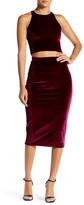 Rachel Pally Nori Velvet Pencil Skirt