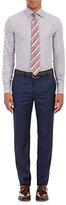 Etro MEN'S ZIGZAG JACQUARD DRESS SHIRT-PURPLE SIZE 17