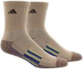 adidas ClimaLite® X II Socks - 2-Pack, Quarter Crew (For Men)