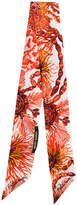 Roberto Cavalli printed neck scarf