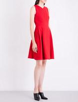 Roland Mouret Ellesfield V-neck crepe dress