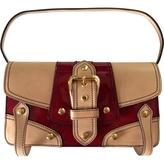 Giuseppe Zanotti Burgundy Patent leather Clutch bag