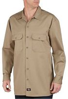 Dickies Men's Big & Tall Relaxed Fit Heavy Weight Cotton Work Shirt