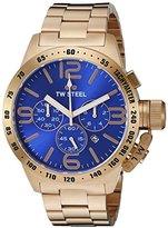 TW Steel Men's CB184 Analog Display Quartz Rose Gold Watch