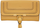 Chloé Yellow Long Marcie Wallet