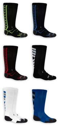 Russell Active Boys Crew Socks 6 Pack Socks