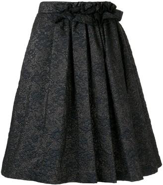 Lanvin Jacquard Midi Skirt