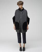 Tsumori Chisato wool tweed coat