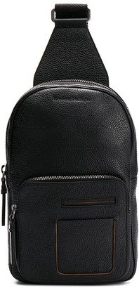 Ermenegildo Zegna One-Shoulder Strap Backpack